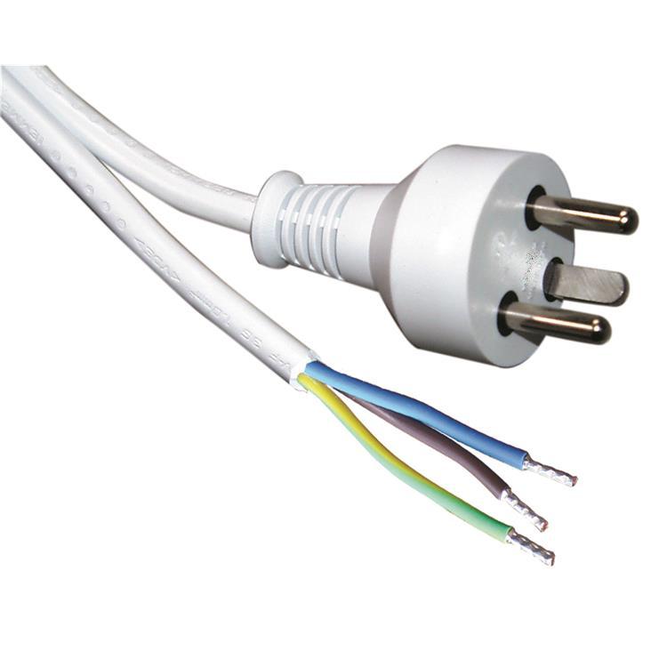 ROLINE 30.16.9041 power cable White 15 m Power plug type K