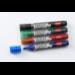 Nobo Liquid Ink Drywipe Markers Assorted (12)