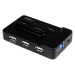 StarTech.com 6 Port USB 3.0 / USB 2.0 Combo Hub with 2A Charging Port – 2x USB 3.0 & 4x USB 2.0