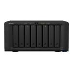 Synology DiskStation DS1819+ Ethernet LAN Desktop Black NAS