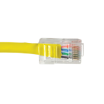 Videk Cat5e UTP RJ-45 networking cable 10 m U/UTP (UTP) Yellow