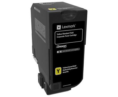 Lexmark 74C2SYE Toner yellow, 7K pages