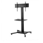 "Peerless SS560M 65"" Black flat panel floorstand"