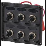 Generic 6-Way Switch Panel with LED Indicators