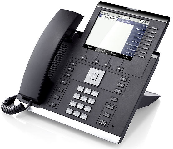 Unify OpenScape IP 55G IP phone Black 8 lines