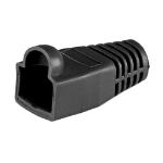 Cablenet RJ45 Cat6a Boot Black 6.5mm