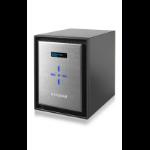 Netgear ReadyNAS 626X NAS Mini Tower Ethernet LAN Black,Silver