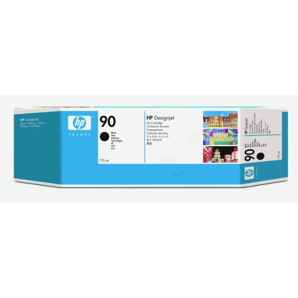 HP C5059A (90) Ink cartridge black, 775ml