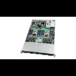 "Intel VRN2208WAF8 Intel® C612 LGA 2011-v3 Custom 16.7"" x 17"" Black, Silver server barebone"