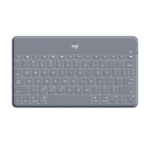 Logitech Keys-To-Go Gray Bluetooth QWERTY