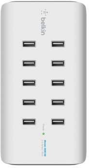10-port 2.4a USB Charger