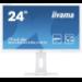 """iiyama ProLite B2483HSU-W5 pantalla para PC 61 cm (24"""") 1920 x 1080 Pixeles Full HD LED Blanco"""