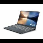 """MSI Prestige 14 Evo A11M-418UK Notebook 35.6 cm (14"""") Full HD 11th gen Intel® Core™ i5 16 GB LPDDR4-SDRAM 512 GB SSD Wi-Fi 6 (802.11ax) Windows 10 Home Grey"""