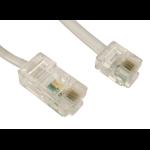 Cables Direct RJ-45 - RJ-11 3m White