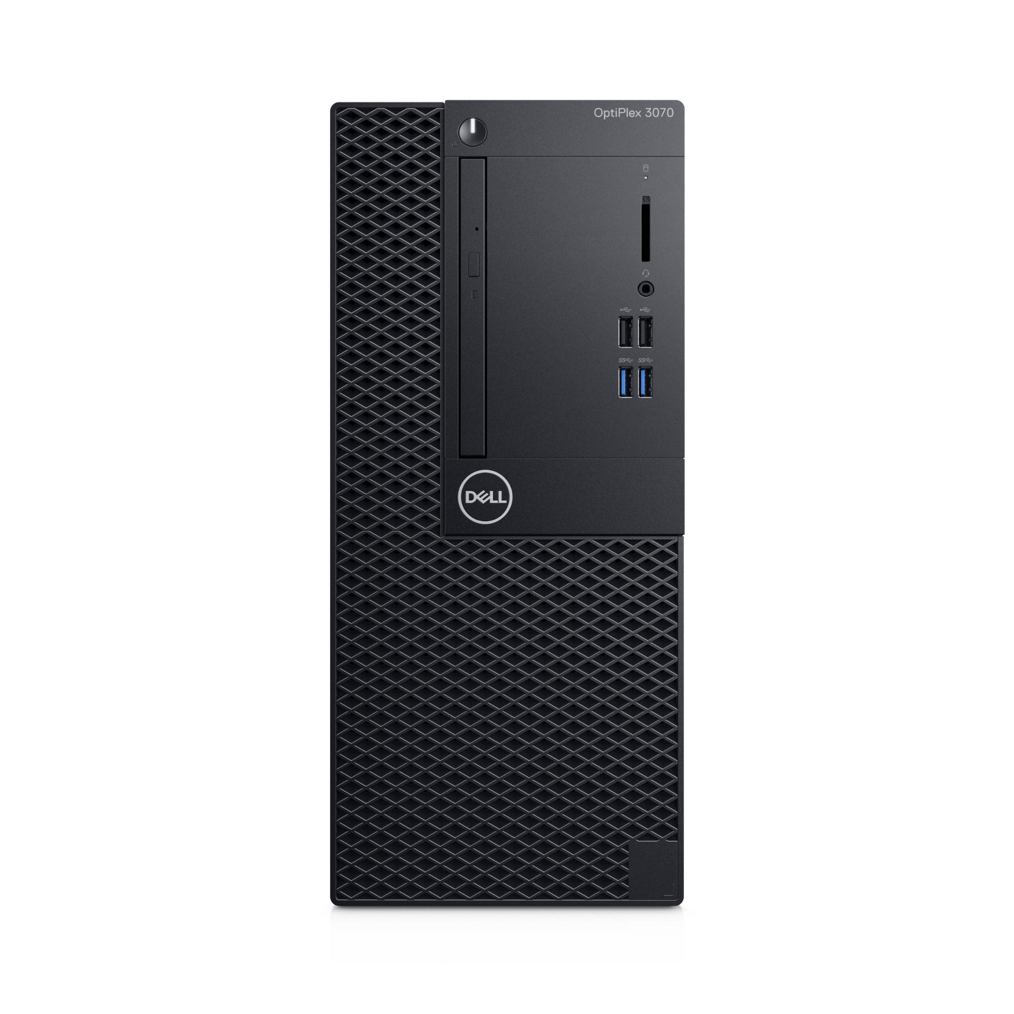 DELL OptiPlex 3070 9na generación de procesadores Intel® Core™ i5 i5-9500 8 GB DDR4-SDRAM 256 GB SSD Mini Tower Negro PC Windows 10 Pro