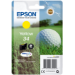 Epson Golf ball Singlepack Yellow 34 DURABrite Ultra Ink