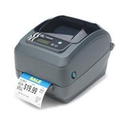 Zebra GX420t labelprinter Thermo transfer 203 x 203 DPI Bedraad