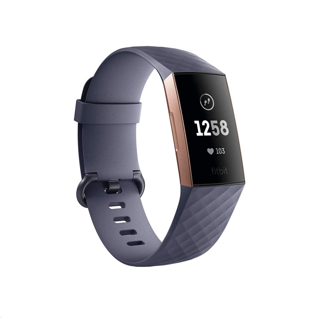 Fitbit Charge 3 Pulsera de actividad Oro rosa OLED
