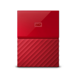 Western Digital My Passport Externe Festplatte 2000 GB Rot