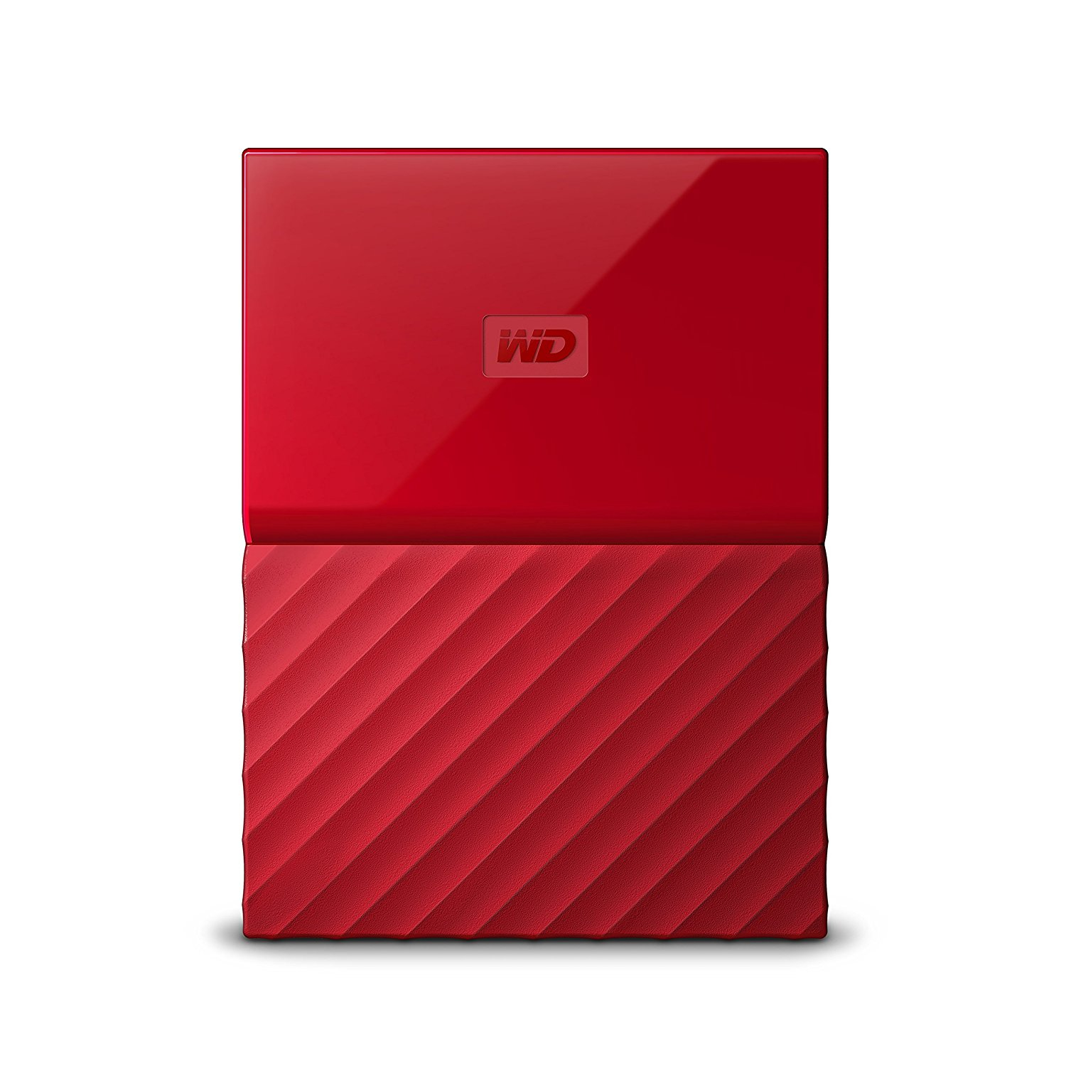 Western Digital My Passport external hard drive 2000 GB Red