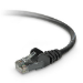 Belkin CAT6 Snagless Networking Cable 2m Black networking cable
