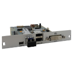Black Box ACX1MR-DHID-SM interface cards/adapter DVI-D, Fiber, USB 2.0 Internal