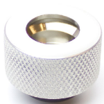 PrimoChill Ghost Compression Fitting Acrylic Tube 13/10mm - Silver