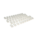 Tripp Lite Cat5e RJ45 Modular In-Line Connectors for Stranded Cat5e 4-Pair Cable, 50-Pack