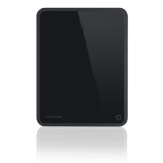 Toshiba Canvio for Desktop 3TB 3000GB Black external hard drive