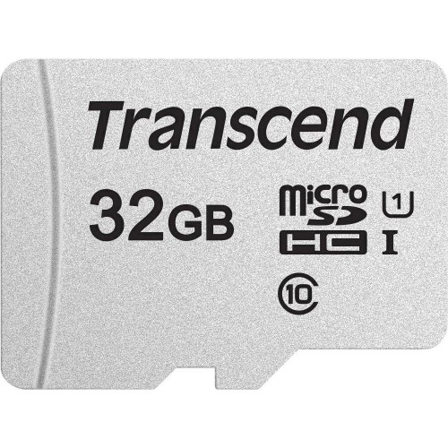 Transcend microSDHC 300S 32GB memory card Class 10 NAND