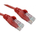 Cables Direct 0.5m Economy 10/100 Networking Cable - Red