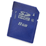 Hewlett Packard Enterprise 8GB SD 8GB SDHC Class 6 memory card