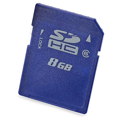 Hewlett Packard Enterprise 8GB SD 8GB SDHC Class 6 memory card