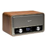 Goodmans HERITAGE2CON Analog & digital Black, Brown, Grey radio