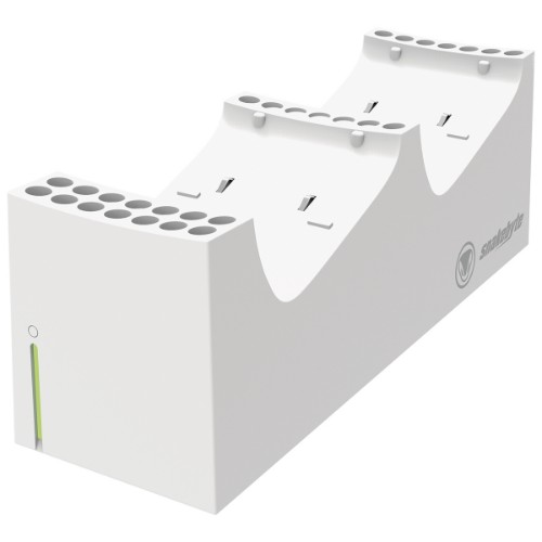 Snakebyte TWIN:CHARGE SX White Indoor