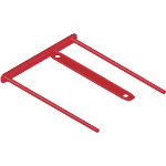 Fellowes 1189301 paper clip Plastic 100 pc(s)