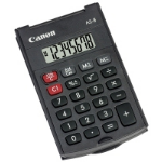 Canon AS-8 Pocket Display calculator Grey