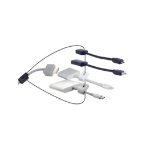 "Liberty DL-AR2803 cable interface/gender adapter Mini-DisplayPort, Micro-HDMI ""D"", Lightning, USB C HDMI Black,White"