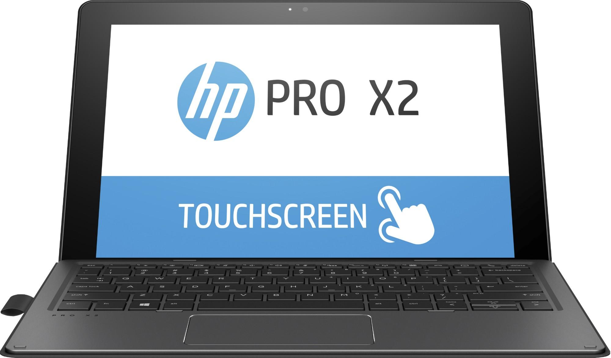 "HP Pro x2 612 G2 Zilver Hybride (2-in-1) 30,5 cm (12"") 1920 x 1280 Pixels Touchscreen 1,20 GHz Zevende generatie Intel® Core™ i5 i5-7Y54"