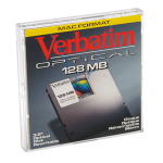 "Verbatim 3.5"" 128Mb ReWritable MO Disk 3.5"" magneto optical disk"