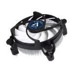 ARCTIC Alpine 12 Low Profile Compact Heatsink & Fan, Intel 115x Sockets, Fluid Dynamic Bearing, 75W TDP, 6