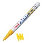 Uni-Ball Uni Paint Marker Fine Bullet Tip Yellow PK12