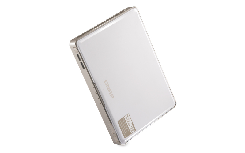 QNAP TBS-453DX J4105 Ethernet Compacto Blanco NAS