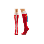 DC COMICS Wonder Woman Caped Boots Women's Knee High Socks, Multi-colour (KH0C11DCO)