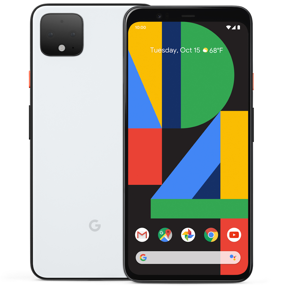 "Google Pixel 4 XL 16 cm (6.3"") 6 GB 64 GB 4G USB Type-C White 3700 mAh"