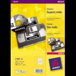 Avery L7665-25 printer label White