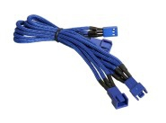 BitFenix BFA-MSC-3F33F60BB-RP cable interface/gender adapter 3-pin 3 x 3-pin Blue