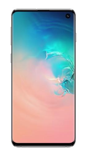 "Samsung Galaxy S10 SM-G973F 15.5 cm (6.1"") 8 GB 128 GB 4G White 3400 mAh"