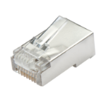 Lindy 62406 wire connector RJ-45 Transparent