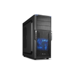 Sharkoon T3-V Midi ATX Tower Black